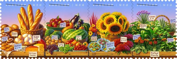 This is a new commemorative stamp introduced by the U.S. Postal Service